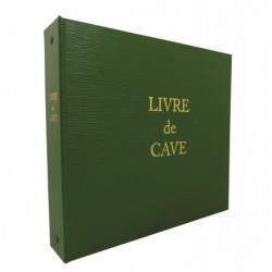ELVE Livre de cave à Anneaux et recharge 230X245 mm Vert