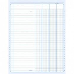 ELVE Piqûre comptable 4 col. Sur une page  - 32 x 25cm - 80 pages