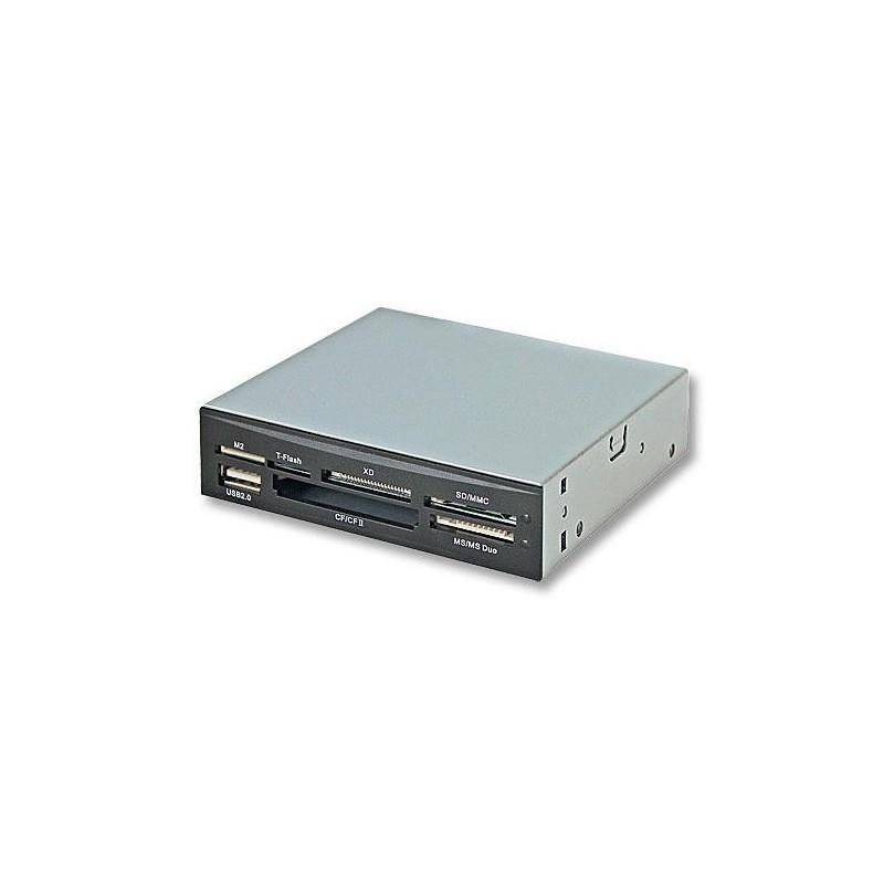 """LINDY Lecteur de cartes, interne USB 2.0, 3,5"""""""