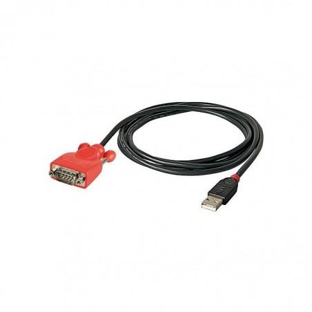 LINDY Convertisseur USB série RS232 9 pins 1,5 m