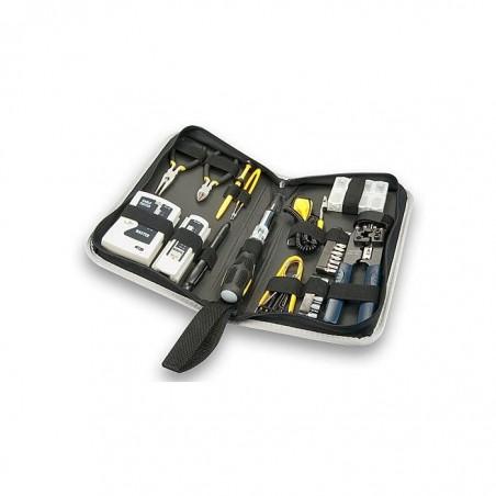 LINDY Kit d'outils réseau & universel 54 pièces