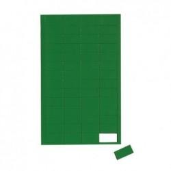 MAUL Planche Symboles magnétiques rectangle 1 x 2cm 56 pcst Vert