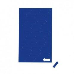 MAUL Planche Symboles magnétiques flèche 1 x 2 cm 30 pcs Bleu