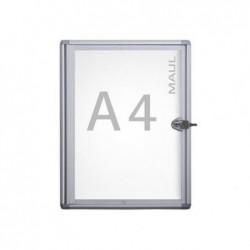 MAUL Vitrine MAULextraslim 1 x A4  Aluminium