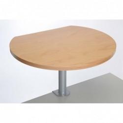 MAUL Table haute sur pince plaquée hêtre Bois