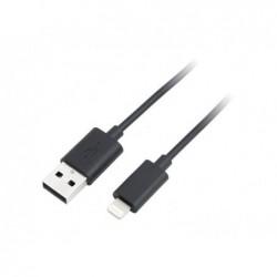 LOGILINK Câble de connection vers USB pour iPad, iPhone5, iPod 1m