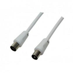 LOGILINK Câble d'antenne - mâle /femelle – 2.5m – (CA1061)