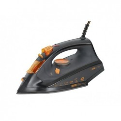 CLATRONIC Fer à repasser DB 3512 Noir - Orange