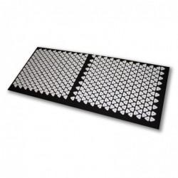 Tapis d'acupression Shanti 120 x 50 cm (6210 Points de contact) Noir