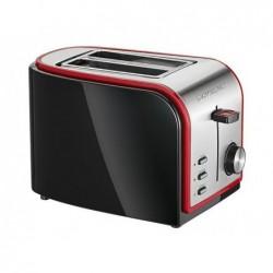 CLATRONIC Grille pain automatique Clatronic TA 3357 noir-inox