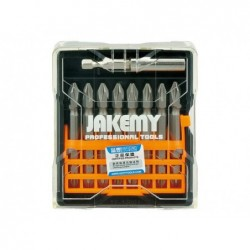 JAKEMY Set d´embouts croix 9en1  TOOLS JM-TP021 65mm PH2
