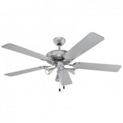 AEG Ventilateur de plafond D-VL 5667 AEG avec éclairage inclus (inox)