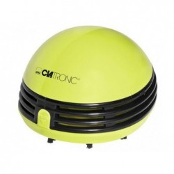 CLATRONIC Mini aspirateur à piles Table vacuum cleaner TS 3530 (green)