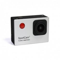REEKIN Caméra Action WiFi  SportCam2 FullHD 1080P Argent