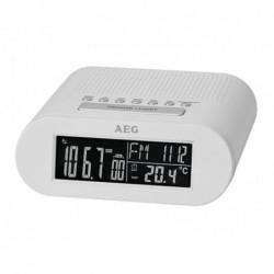 AEG Radio-réveil MRC 4145 F  - Blanc