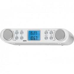 AEG Radio de cuisine  KRC 4344 - Blanc