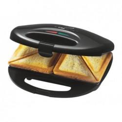 CLATRONIC Appareil à sandwichs Clatronic  Noir-Inox