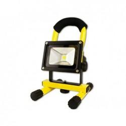 ARCAS Spot halogène rechargeable 10 watts LED  (Jaune)