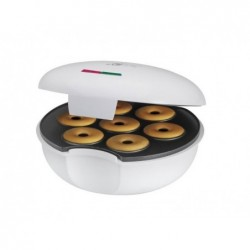 CLATRONIC Machine à beignets Clatronic Donut Blanc