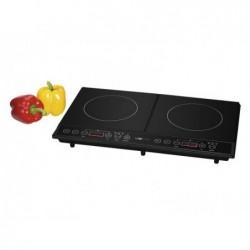 CLATRONIC Plaque chauffante double à induction DKI 3609 Clatronic - Noir