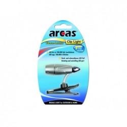 ARCAS Lampe de lecture 3 LED avec pince
