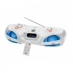 AEG Radio stéréo  Soundbox avec Bluetooth CD/MP3 SR 4371 BT - Blanc