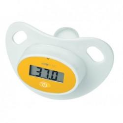 AEG Tétine-thermomètre numérique Clatronic FT 3618 - blanc/jaune
