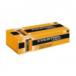 DURACELL Pack de 10 piles Duracell INDUSTRIELLES MN1604/9V carré