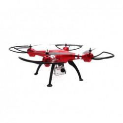 SYMA TOYS Quadricoptère SYMA X8HG 2.4G 4 canaux avec gyro + Caméra 8MP (Rouge)