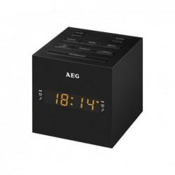 AEG Radio-réveil USB AUX-In   MRC 4150 - Noir