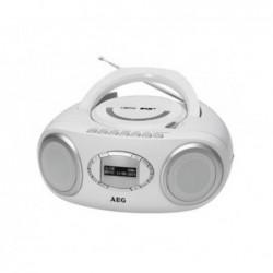 AEG Radio stéréo AEG SR 4370  CD/DAB+/USB - Blanc