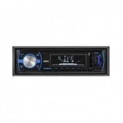 AEG Autoradio AEG AR 4030 avec Bluetooth USB & lecteur de carte (Noir)