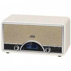 AEG Radio rétro AEG NDR 4378 numérique avec Bluetooth DAB+ Crème