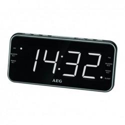 AEG Radio réveil MRC 4157, noir