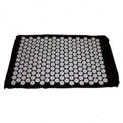 Tapis d'acupression Shanti 65 x 41 cm Noir
