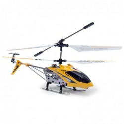 SYMA TOYS Hélicoptère RC SYMA S107G Gyro infrarouge 3 voies - Jaune