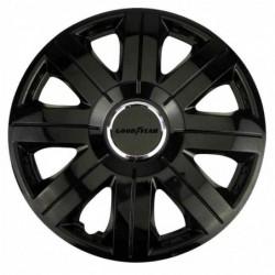 GOODYEAR Goodyear Flexo 755 Noir - Enjoliveur (4 pièces) R13