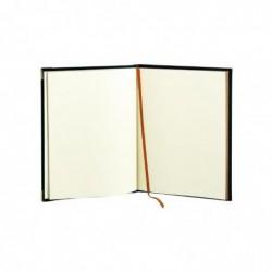 QUO VADIS Livre d' Or 27 Tranche Dorée Bougie gris 21 x 27 cm