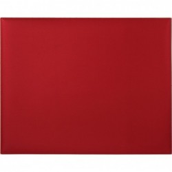 QUO VADIS SOUS-MAIN Soho rouge dali 50x40 cm