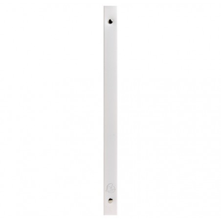 EXACOMPTA Lot de 5 Classeur 4 anneaux 15mm polypropylène opaque 5/10e Krea Cover A4 Blanc