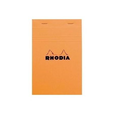 RHODIA Bloc de direction orange 80 feuilles format A5 réglure 5x5