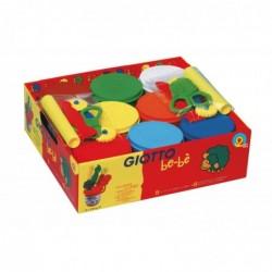 GIOTTO Schoolpack 8 Pots De 220g De Pate A Modeler Bebe + Acc