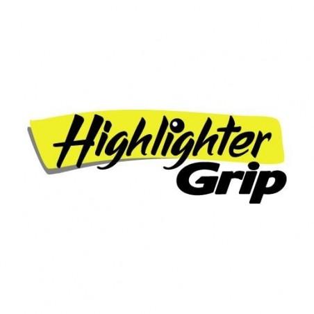 BIC Pochette de 5 Surligneurs HIGHLIGHTER GRIP Pte Biseau Moy J/R/V/B/O