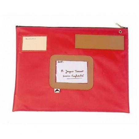 ALBA Pochette navette en PVC dimensions : 42x32cm Rouge