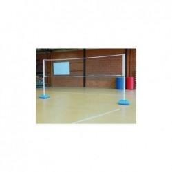 FSL Filet réglable pour activités, badmington, volley, mini tennis 3 m x 1,6 m
