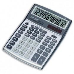 CITIZEN Calculatrice bureau CCC 112 12 chiffres Grise