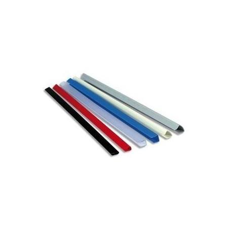 EXACOMPTA Boîte de 25 baguettes à relier manuelle SERODO 3mm bleu clair