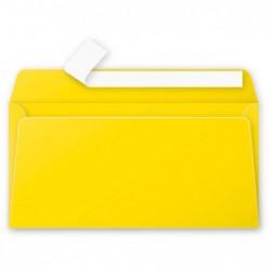 POLLEN paquet de 20 enveloppes 120g 110x220 jaune soleil