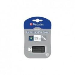 VERBATIM Clé USB 2.0 Store 'n' Go PinStripe 32Go Noir