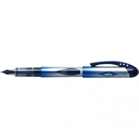 BIC Stylo Plume Jetable ALL IN ONE Pte Moy. Bleu